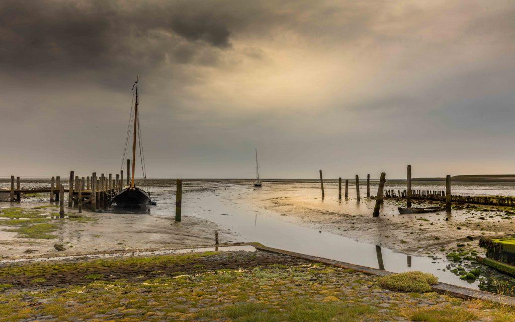 Het haventje van Sil bij de Cocksdorp op Texel verbergen heel veel berichten, anekdotes, sagen en verhalen